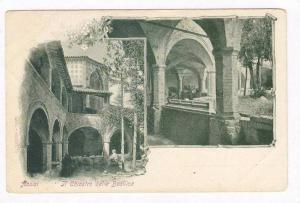 ASSISI, Italy. 1890s   Il Chiostro della Basilica