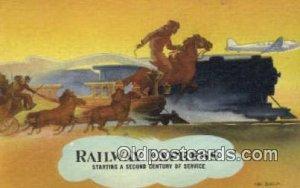 Railway Express Trains, Railroads Unused