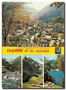 Old Postcard Luchon Haute Garonne and surroundings