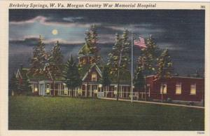West Virignia Berkeley Springs Morgan County War Memorial Hospital