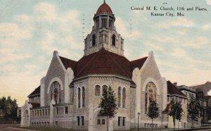 KANSAS CITY, Missouri, PU-1911; Central M.E. Church