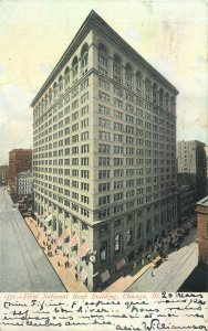 USA  Chicago IL First National Building illustration Postcard