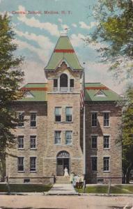 Central School at Medina NY, New York - pm 1923 - DB