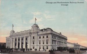 Chicago and Northwestern Railway Station Chicago Illinois 1913