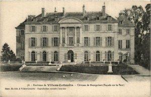 CPA Env.De Villers Cottérets. Chateau de Montgobert (666144)