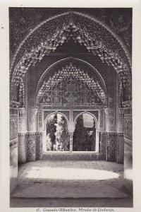 RP, Mirador De Lindaraja, Granada (Andalucia), Spain, 1920-1940s