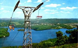 Canada - Quebec, Ste Agathe-des-Monts (Aerial Lift)