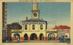 Old Market House in Fayetteville, North Carolina