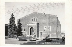 RP: ENDERLIN , North Dakota , 1940s , City Hall