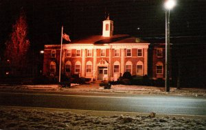 Connecticut Southington Town Hall Seen From Town Green