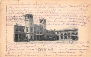 B76775 Romania Bucuresti Gara De nord 1904