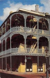 USA New Orleans Lace Balconies 700 Royal Street