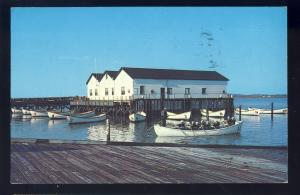 Cape May, New Jersey/NJ Postcard, Training Boats, US Coast Guard Receiving Ctr
