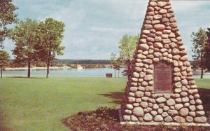 The Cairn and Park at Clear Lake, Wasagaming, Manitoba, Canada, 40-60s