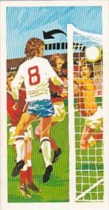 Brooke Bond Trade Card Play Better Soccer No 15 Far-Post Corner