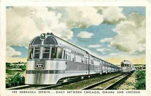 Railroad, Train, The Nebraska Zephyr, Chicago, Ohaha, Lincoln