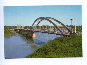 192844 IRAN AHWAZ bridge old photo postcard