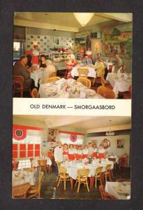 FL Old Denmark Smorgaasbord Restaurant Madeira Beach Florida Postcard PC