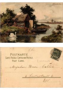 CPA Auf lichten Pfaden Meissner & Buch Litho Serie 1265 (730430)