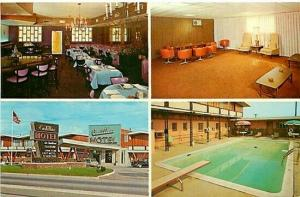 NJ, Elizabeth, New Jersey, Cadillac Motel, Multi View, Dexter Press No. 98237-B