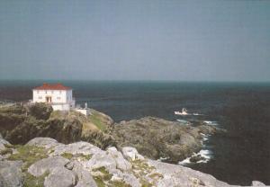 Lighthouse at Cape St Francis  , Newfoundland , Canada , 50-70s