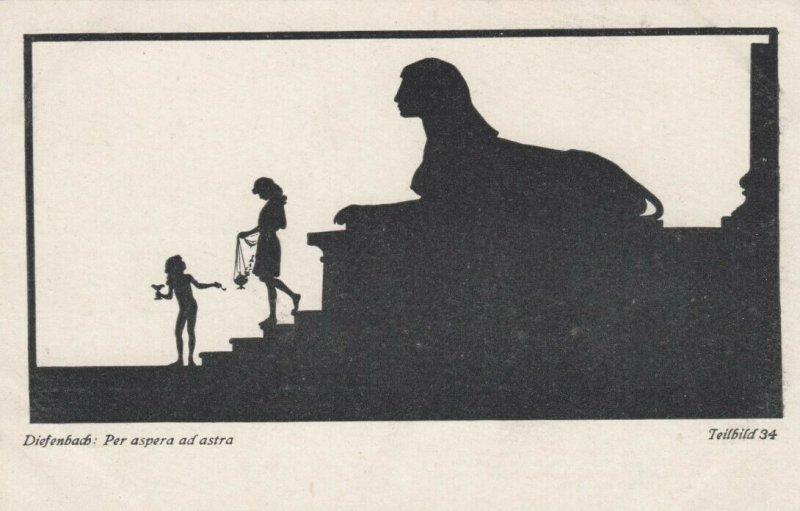 DIEFENBACH : Fantasy Silhouette , 00-10s ; Teilbild 34