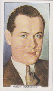 Gallaher Cigarette Cards My Favourite Part No. 45 Robert Montgomery