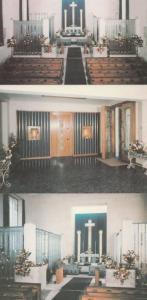 Jersey St Matthews Church Millbrook 3x Postcard