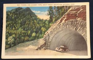 Postcard Used 522-Great Smokey Mountains National Park TN LB