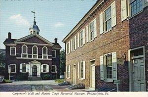 Caroenter's Hall and Marine Corps Memorial Museum Philadelphia Pennsylvania
