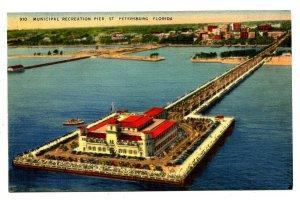 FL - St. Petersburg. Municipal Recreation Pier