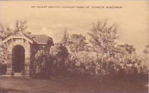 Wisconsin St Francis Mt Olive Grotto Convent Park Artvue
