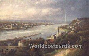 Mundung der Mosel in den Rhein Koblenz Germany Unused