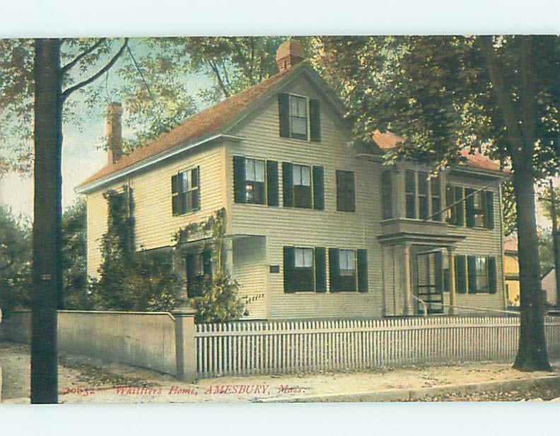 Divided-Back HISTORIC HOME Amesbury Massachusetts MA W4925