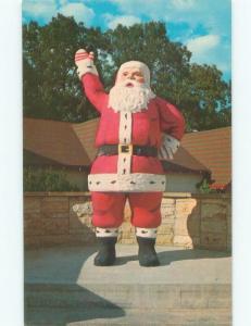 Pre-1980 SANTA CLAUS WAVING Santa Claus - Near Boonville & Evansville IN E8817