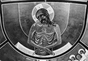 Monastere benedictin de Chevetogne Eglise Orientale Prothese: Christ de pitie