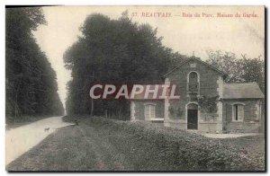 Old Postcard Beauvais Wood Park Guard House