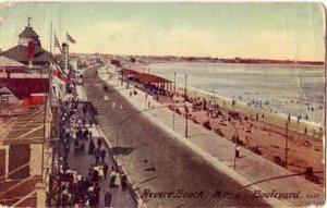 REVER BEACH, MA BOULEVARD MASON BROS, PUBL.