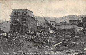 LPS76 Johnstown Pennsylvania 1889 Johnstown Flood Locust to Main Street Postcard
