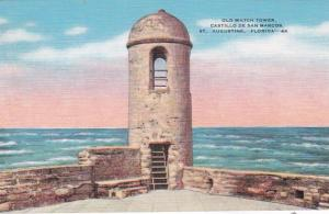 Florida St Augustine Castillo De San Marcos Old Watch Tower