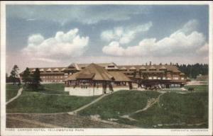 Yellowstone Canyon Hotel Detroit Publishing 71062 c1910 Postcard EXC COND