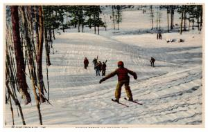 Wisconsin  La Crosse , Children Skiing