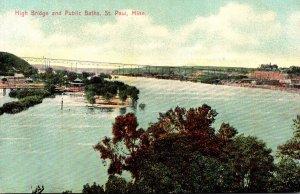 Minnesota St Paul High Bridge and Public Baths
