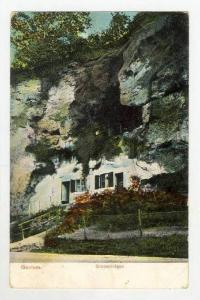View of Building Built into Mountain / Grotwoningen,Geulem,Netherlands 1908 PU