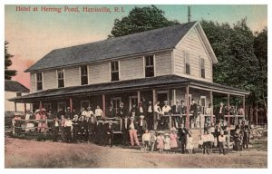 Rhode Island   Harrisville Hotel at Herring Pond