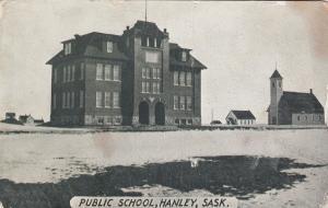 HANLEY , Saskatchewan, Canada; 1900-10s ; Public SChool