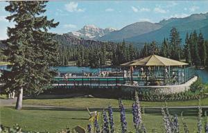 View from Jasper Park Lodge, Vancouver,  B.C., Canada, 40-60s