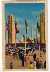 Corona Entrance, NY Worlds Fair 1939