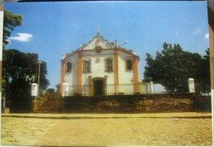 Brazil Tiradentes Vista Parcial do Santuario da Santissima Trindade - posted