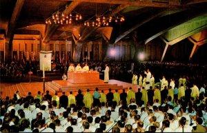 France Lourdes The Underground St Pius Basilica